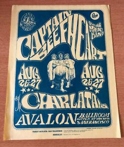 Family Dog FD 23 Captain Beefheart Avalon Ballroom 8/26-27/66 Handbill Type A