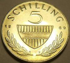 Beweis Österreich 1969 5 Schillinge ~ Lippizaner Hengst 29,000 Minted ~ Stichtag