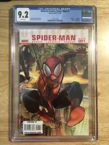 Ultimate Comics Spider-man #1 CGC 9.2 (NM-) Bendis - David Lafuente