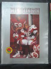 1993 UNIVERSITY OF WISCONSIN BADGERS FOOTBALL PROGRAM VS NEVADA WOLF PACK