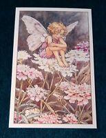 CICELY MARY BARKER FLOWER FAIRIES POSTCARD, THE CANDYTUFT FAIRY, OF THE GARDEN