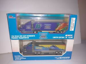 Racing Champions Brickyard 400 and 1994 Indy car Transporter 1:64 Diecast lot.