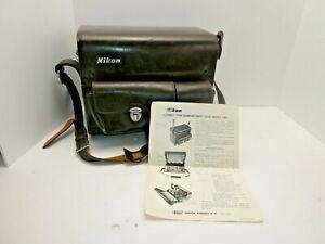 :Nikon Vintage FB-5 Lens Bayonet Compartment Camera Case for F System