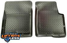 Husky Liner 32501 Black Classic Style Front Floor Liner for 04-12 GM/Isuzu 2/4WD