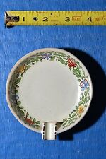 VintageCeramic Ashtray Bath Tub Soap Dish Trinket signed