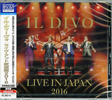 Live in Japan 2016 Special Edition IL Divo Audio CD