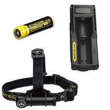 Nitecore HC30W XM-L2 LED Headlamp 1000Lm w/ UM10 Charger & NL183 18650 Battery