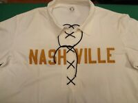 2004 NASHVILLE SOUNDS RETRO THROWBACK GAME WORN USED JERSEY