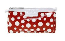Maymi and Mayki Red Cosmetic Bag with White polka Dot Design 32340