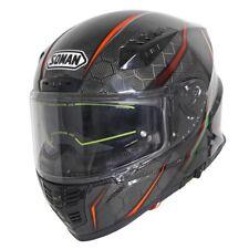 Carbon Fiber Motorcycle Motorbike Bicycle Moto Helmet Helmets Double Sun Visor
