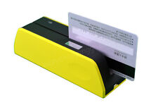 Yellow Msr09X6 Magnetic Magnetic Strip Credit Card Reader Writer Encoder Msre206