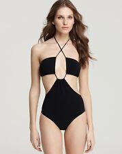 BNWT Beautiful Designer BURBERRY Black Bathing Suit S