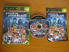 Pure Pinball (Microsoft Xbox, 2004) - American Pinball Reborn - Sold in CANADA