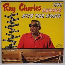 RAY CHARLES: The Genius Hits the Road USA ABC Jazz R&B Vinyl LP Mono