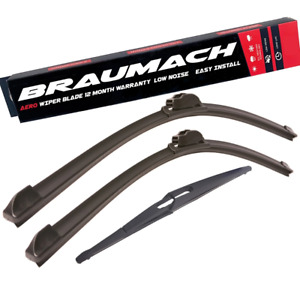 Front Rear Wiper Blades for Mercedes Benz M-Class W164 SUV ML 320 CDI 4-matic 20