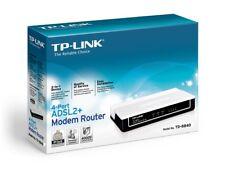 TP-Link TD-8840 Four Ethernet Port ADSL2/2+ Modem Router