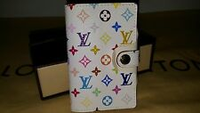 BNWT AUTH LOUIS VUITTON WHITE MULTICOLOR  ADDRESS BOOK BRAND NEW