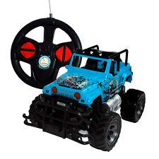 Rayline RC Auto Jeep 6142S  blau, mit Lenkradbedienungl