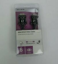 BRAND NEW Belkin VGA/SVGA Video Cable 6 Feet Male to Male