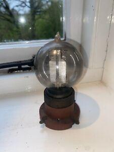 Unusual antique valve radio scientific