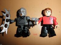 STAR TREK movie KREO SCOTTY + KLINGON alien + Transporter TOY Simon Pegg figure