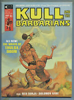 Kull and the Barbarians #2 1975 Red Sonja Solomon Kane Neal Adams Magazine m
