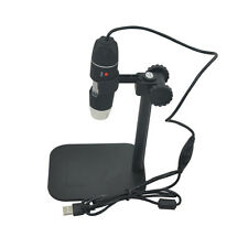 5mp Usb 8 Led Digital Camera Microscope Magnifier Black Stand Exquisite Video