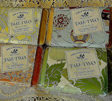 4 - Pre de Provence Take-Two Soap in 4 Various Fragrances - NWT