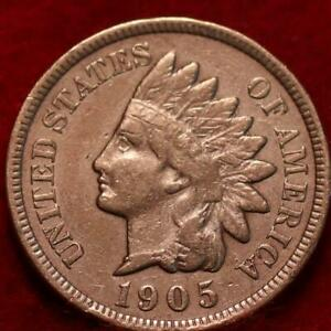 1905  INDIAN  HEAD  CENT #14