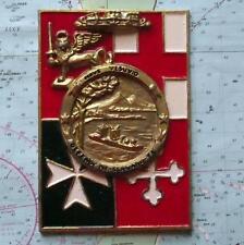 Old Italian Navy Plaque Tampion Crest  : Nave Vesuvio