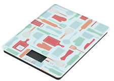 NEW Electronic Glass Kitchen Scales Meat Food Weight 5kg Kitchen Utensil