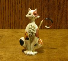 "Jim Shore Heartwood Creek Mini's 6003982 SPOTTED CAT, NIB From Retail Store 3.5"""