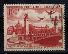 (a32) timbre France P.A n° 28 oblitéré année 1949