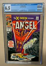 X-Men #44 CGC 6.5 First silver age Red Raven--new case
