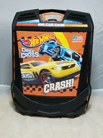 Mattel Hot Wheels Rollin' 100 Car Carrying Case Hide a Way Handle