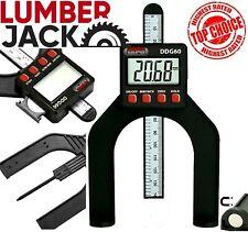 LCD Digital Height Depth Gauge Electronic Caliper Magnetic Ruler Tool 0- 85mm