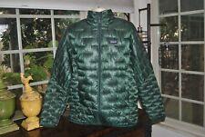 PATAGONIA NWT- Men's  MICRO PUFF Jacket micro Green.  XL-  $249