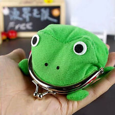Anime Naruto Shippuden Wallet Frog Plush Coin Purse Cosplay Boy Girl Gift Green