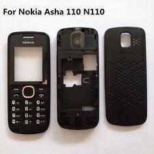 OEM High Quality Nokia Asha N110 black full housing front back case frame keypad