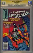 "AMAZING SPIDER-MAN 252 CGC 9.8 SS STAN ""THE MAN"" LEE 1ST BLACK SUIT VENOM MINT"