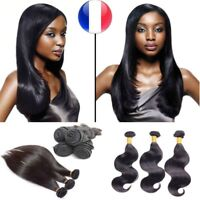 TISSAGE BRESILIEN 100% NATUREL VIRGIN HAIR REMY VIERGE 26CM-76CM 100G 5A