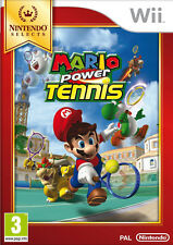 MARIO POWER TENNIS Selects Console Nintendo WII PAL FR + 100% NEUF +