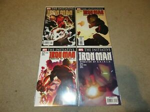 Iron-Man #17-20 The Initiative Lot Comic Books VF/NM 9.0 Marvel 2007