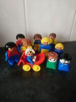 Lego Duplo People Bundle. Baby, buggy, vintage