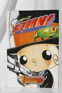 Reborn! Volume 1 Akira Amano 2006 Shonen Jump Advanced SJ Paperback Manga