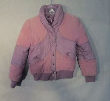 Z7988 Kid's No Brand Purple Coat Size 12