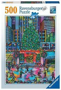 Ravensburger - Rockefeller Christmas 500 Pieces Jigsaw Puzzle