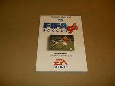 NOTICE / MANUEL JEU SEGA MEGADRIVE FIFA 96 SOCCER
