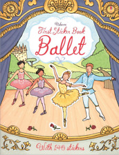 Usborne First Sticker Book Ballet (Paperback) FREE shipping $35