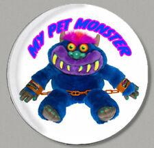 MY PET MONSTER - ROUND FRIDGE MAGNET - 80's CLASSIC!